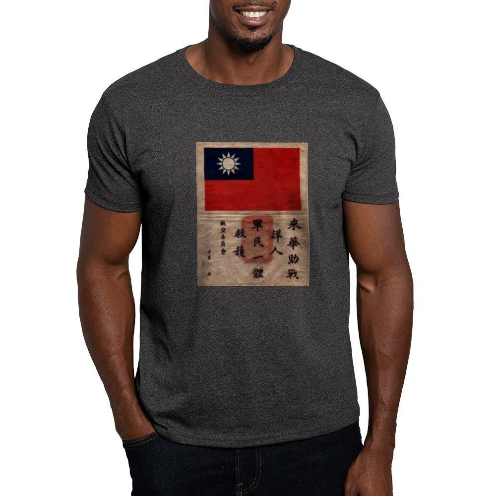 CafePress-Flying-Tigers-Blood-Chit-Dark-T-Shirt-100-Cotton-T-Shirt-155081908 thumbnail 38