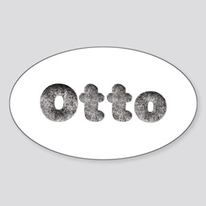 Otto Wolf Oval Sticker