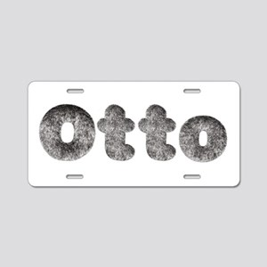 Otto Wolf Aluminum License Plate