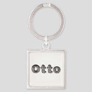 Otto Wolf Square Keychain