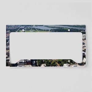 Lafayette Square Aerial Photo License Plate Holder
