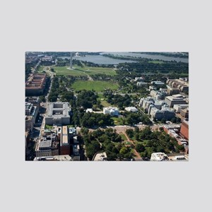 Lafayette Square Aerial Photograp Rectangle Magnet