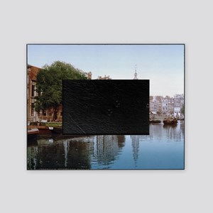 Vintage Amsterdam Photo-Picture Picture Frame