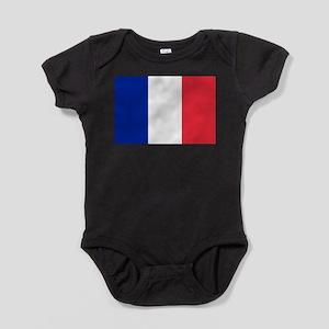 France Flag Baby Bodysuit