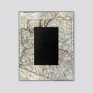 Vintage Map of Arizona (1911) Picture Frame