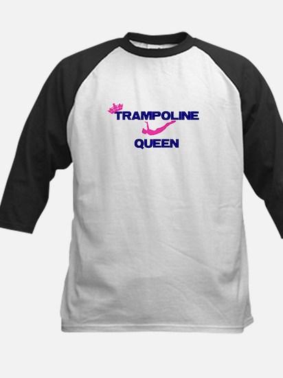 Trampoline Queen Baseball Jersey