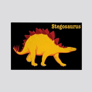 Stegosaurus Dinosaur Rectangle Magnet