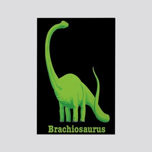 Brachiosaurus Dinosaur Rectangle Magnet