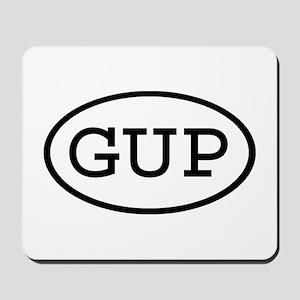 GUP Oval Mousepad