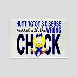 Huntington's MessedWithWrongChick Rectangle Magnet