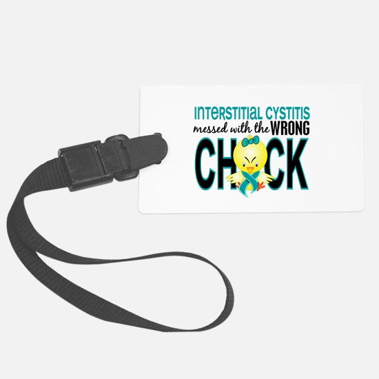 Interstitial Cystitis MessedWith Luggage Tag