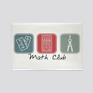 Math Club (Squares) Rectangle Magnet