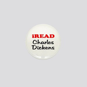 iREAD Charles Dickens Mini Button