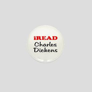 iREAD Charles Dickens Mini Button