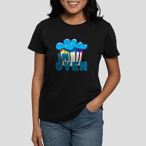 Blue Muffin In Oven Women's Dark T-Shirt