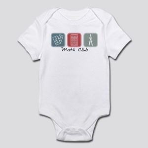 Math Club (Squares) Infant Bodysuit