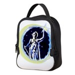 Texas Moon Goddess of Liberty Neoprene Lunch Bag