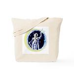 Texas Moon Goddess of Liberty Tote Bag