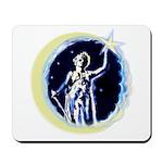 Texas Moon Goddess of Liberty Mousepad
