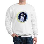 Texas Moon Goddess of Liberty Sweatshirt
