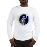 Texas Moon Goddess of Liberty Long Sleeve T-Shirt