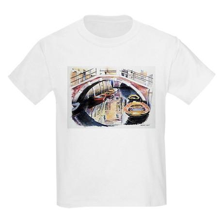 Venice under Bridge Kids T-Shirt