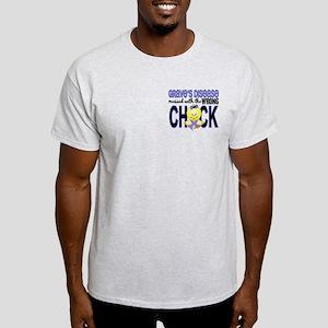 Grave's Disease MessedWithWrongChick Light T-Shirt