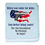 2nd Amendment baby blanket
