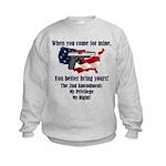 2nd Amendment Kids Sweatshirt