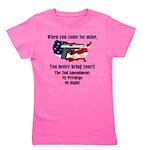 2nd Amendment Girl's Tee