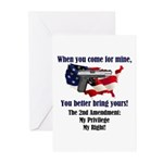 2nd Amendment Greeting Cards (Pk of 10)