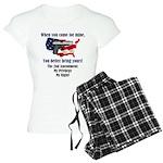 2nd Amendment Women's Light Pajamas
