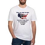2nd Amendment Fitted T-Shirt