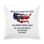 2nd Amendment Everyday Pillow