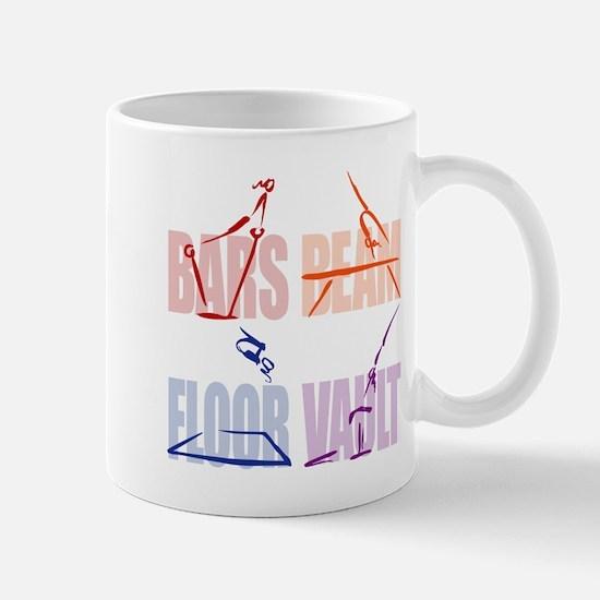 Womens Gymnastics Mug