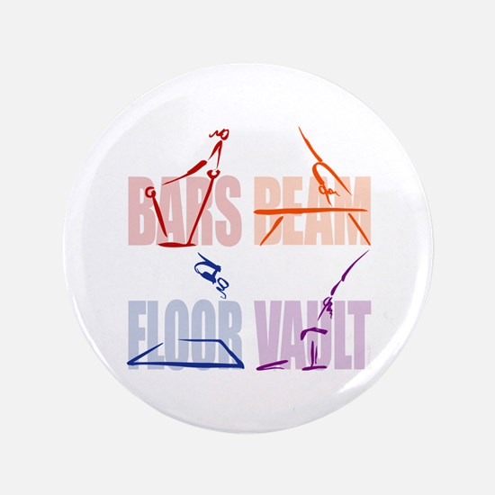 Womens Gymnastics Button