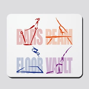 Womens Gymnastics Mousepad
