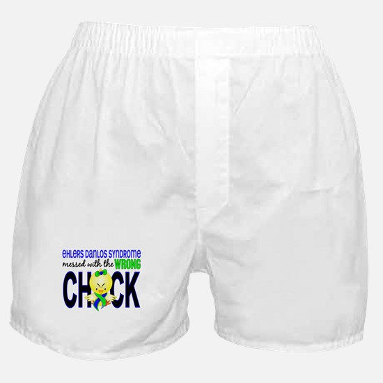 EDS MessedWithWrongChick1 Boxer Shorts