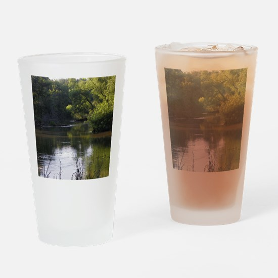 Cute River Drinking Glass