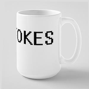 Stokes digital retro design Mugs