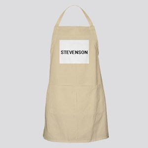 Stevenson digital retro design Apron