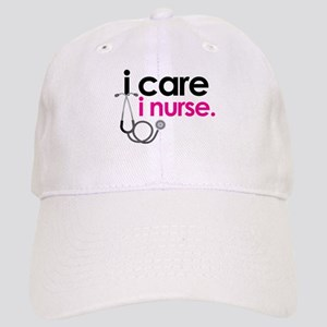 i care i nurse pink Cap