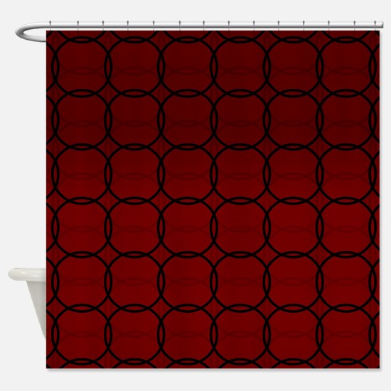 Nantucket Red Shower Curtain