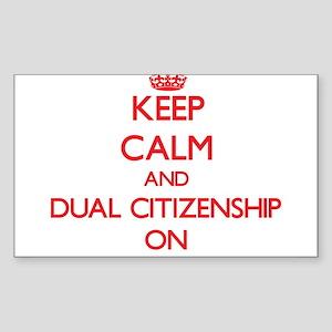Dual Citizenship Sticker