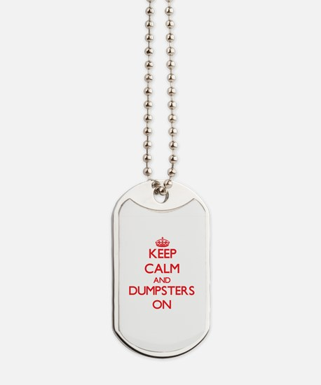 Dumpsters Dog Tags