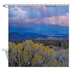 Shasta Sunset Shower Curtain