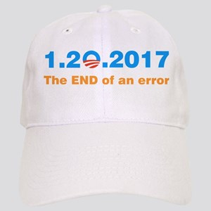 Anti Obama The end of an error Baseball Cap