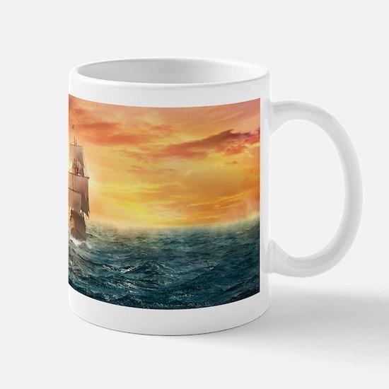 Pirate ship Mugs