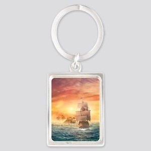 Pirate ship Keychains