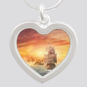 Pirate ship Necklaces
